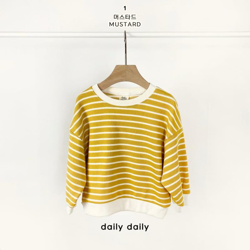DAILY DAILY - Korean Children Fashion - #Kfashion4kids - From Now To Spring Sweatshirt - 2