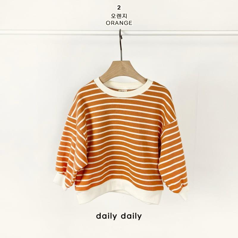 DAILY DAILY - Korean Children Fashion - #Kfashion4kids - From Now To Spring Sweatshirt - 3