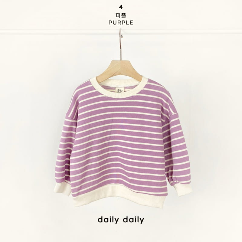 DAILY DAILY - Korean Children Fashion - #Kfashion4kids - From Now To Spring Sweatshirt - 5