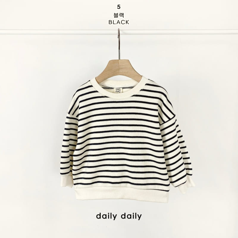 DAILY DAILY - Korean Children Fashion - #Kfashion4kids - From Now To Spring Sweatshirt - 6