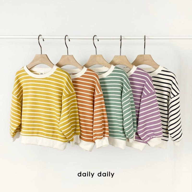 DAILY DAILY - Korean Children Fashion - #Kfashion4kids - From Now To Spring Sweatshirt - 7