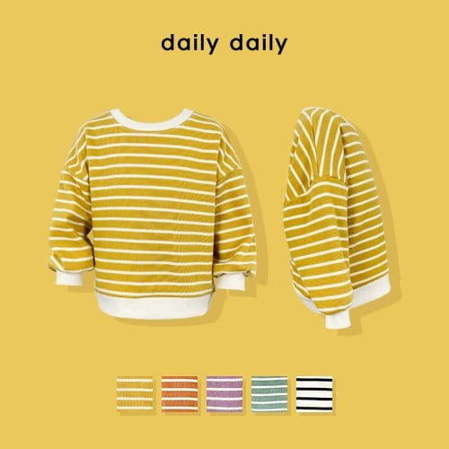 DAILY DAILY - BRAND - Korean Children Fashion - #Kfashion4kids - From Now To Spring Sweatshirt