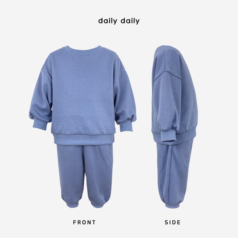 DAILY DAILY - Korean Children Fashion - #Kfashion4kids - Everyday Fleece Top Bottom Set  - 10