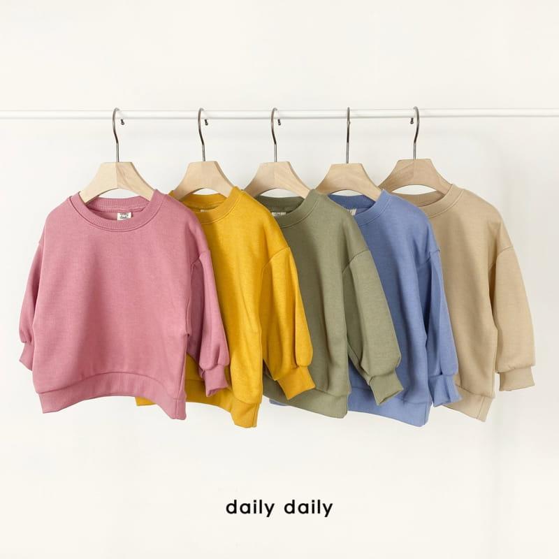 DAILY DAILY - Korean Children Fashion - #Kfashion4kids - Everyday Fleece Top Bottom Set  - 7