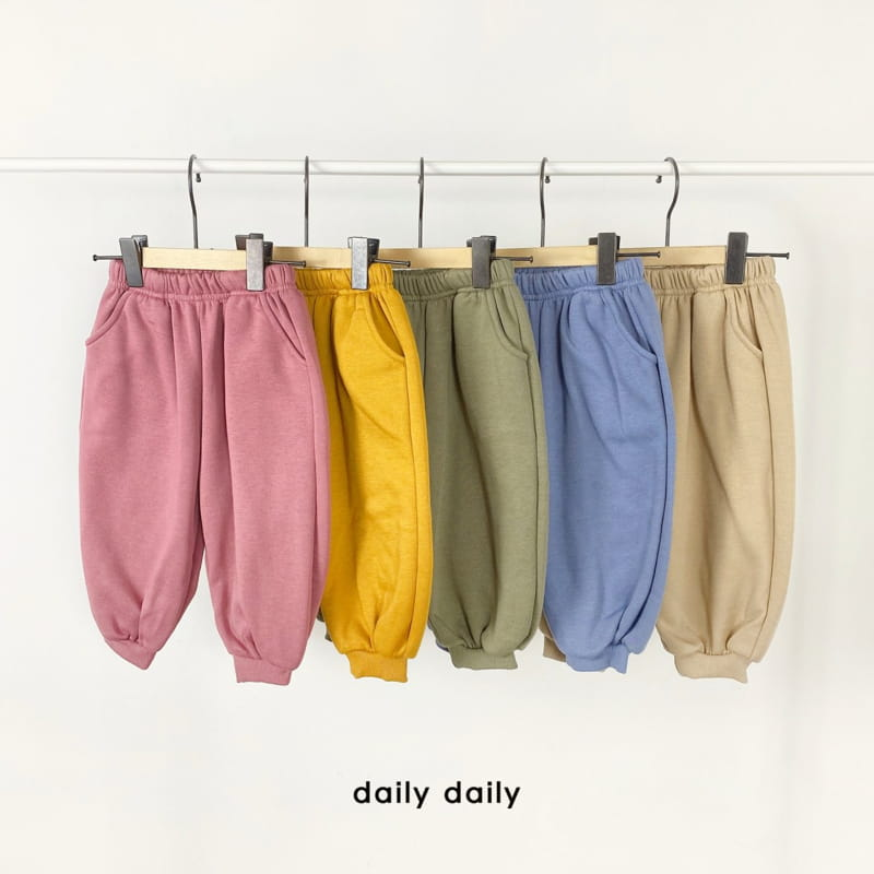 DAILY DAILY - Korean Children Fashion - #Kfashion4kids - Everyday Fleece Top Bottom Set  - 8