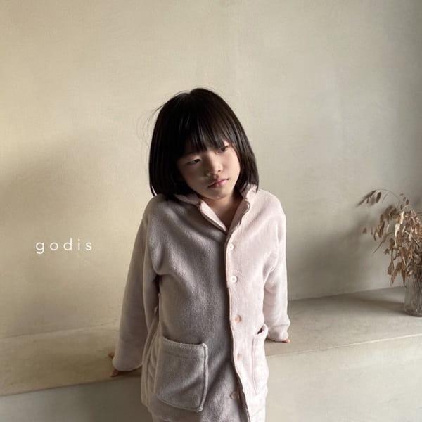 GODIS - Korean Children Fashion - #Kfashion4kids - Fluffy Pajamas