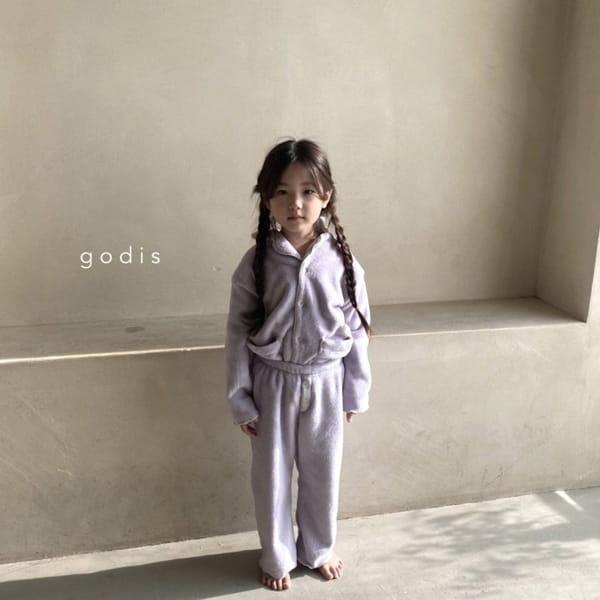 GODIS - Korean Children Fashion - #Kfashion4kids - Fluffy Pajamas - 10