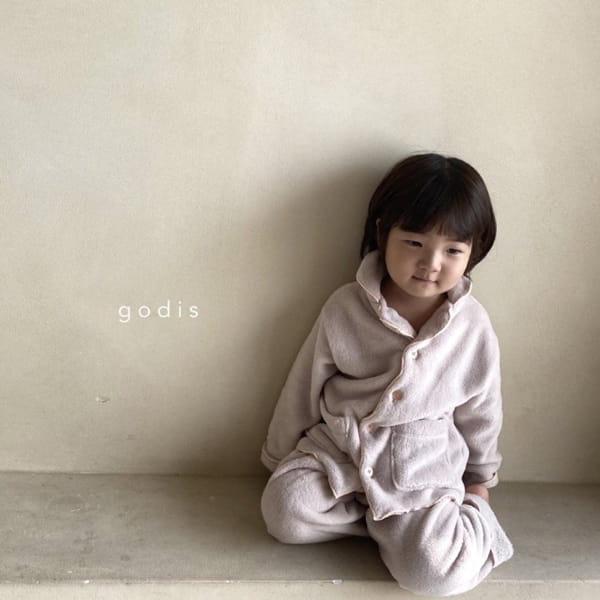 GODIS - Korean Children Fashion - #Kfashion4kids - Fluffy Pajamas - 11