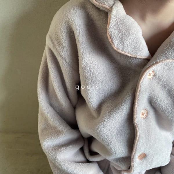 GODIS - Korean Children Fashion - #Kfashion4kids - Fluffy Pajamas - 2