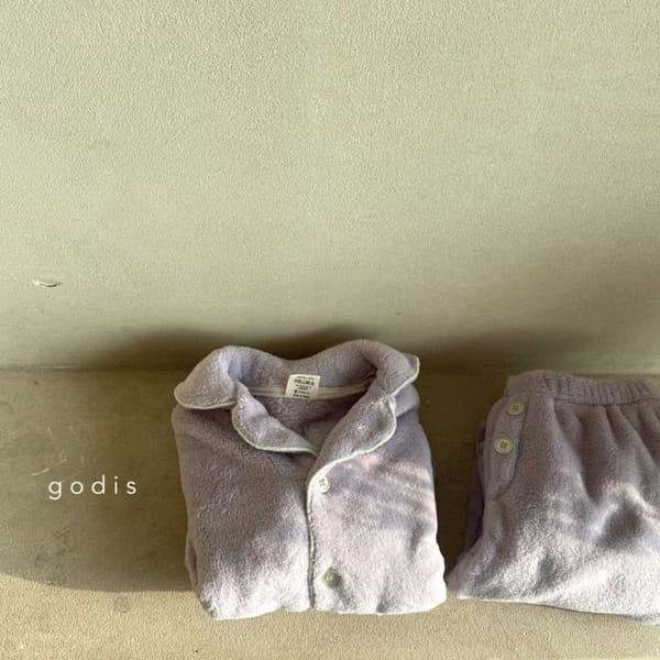 GODIS - Korean Children Fashion - #Kfashion4kids - Fluffy Pajamas - 4