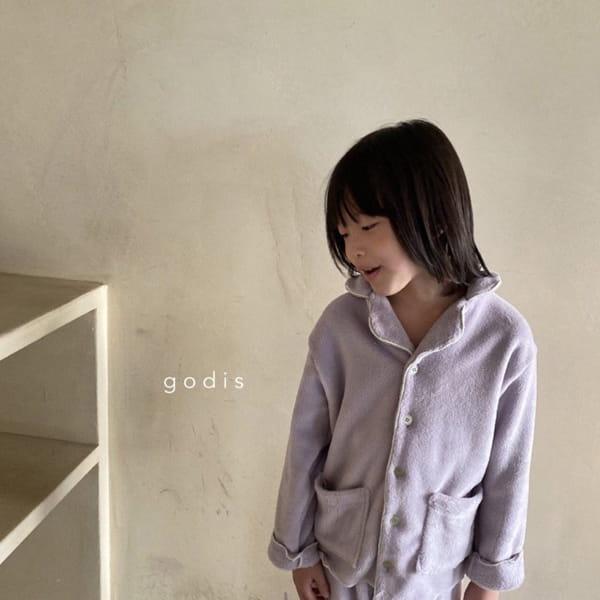 GODIS - Korean Children Fashion - #Kfashion4kids - Fluffy Pajamas - 5