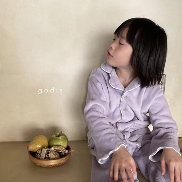GODIS - Korean Children Fashion - #Kfashion4kids - Fluffy Pajamas - 6