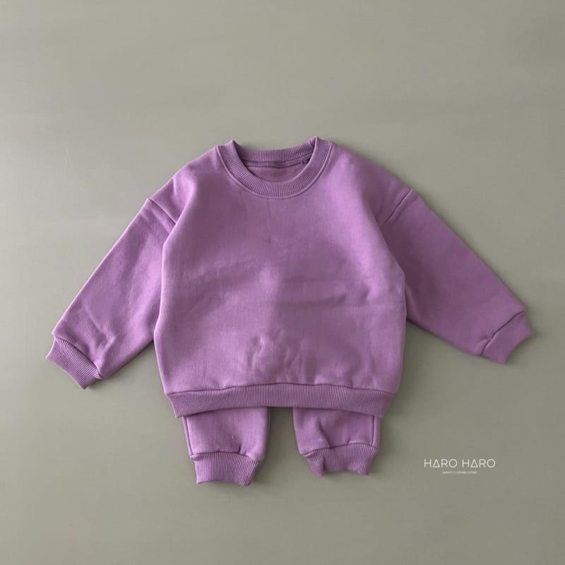 HARO HARO - Korean Children Fashion - #Kfashion4kids - Nunnunana Top Bottom Set - 10