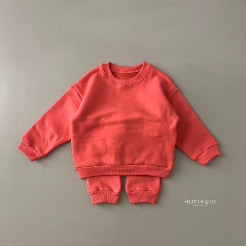 HARO HARO - Korean Children Fashion - #Kfashion4kids - Nunnunana Top Bottom Set - 12