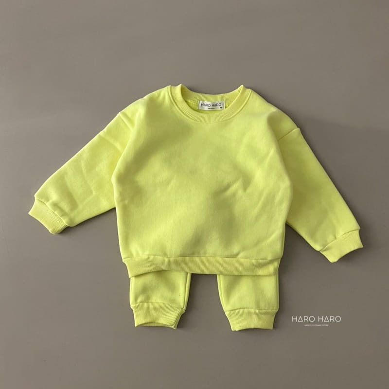 HARO HARO - Korean Children Fashion - #Kfashion4kids - Nunnunana Top Bottom Set - 9