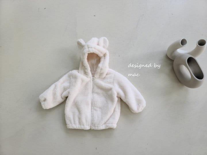 MAC - Korean Children Fashion - #Kfashion4kids - Bear Hoody Zip-up - 10