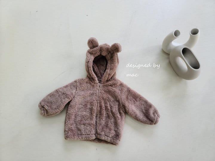 MAC - Korean Children Fashion - #Kfashion4kids - Bear Hoody Zip-up - 11