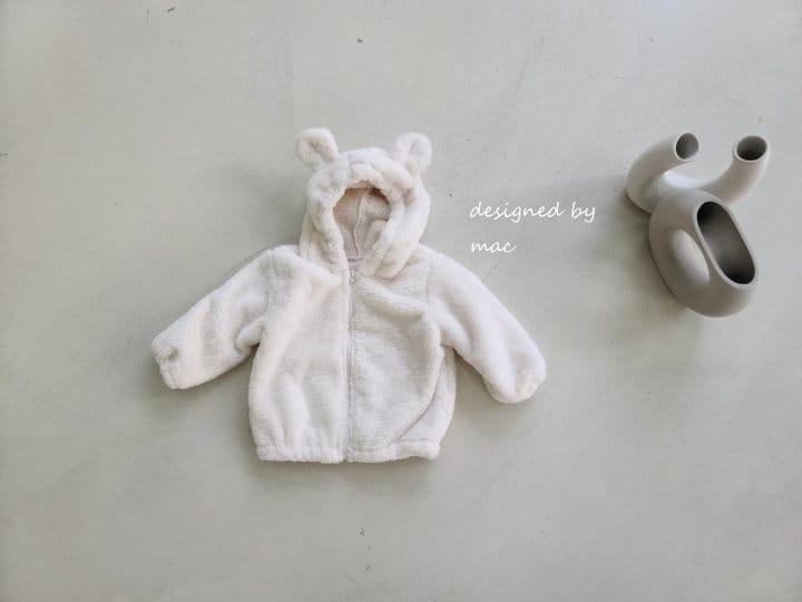 MAC - Korean Children Fashion - #Kfashion4kids - Bear Hoody Zip-up - 2