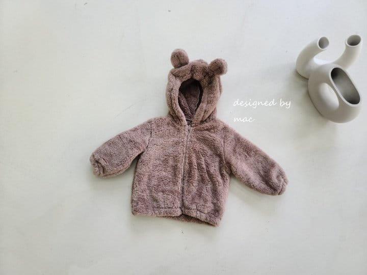 MAC - Korean Children Fashion - #Kfashion4kids - Bear Hoody Zip-up - 4