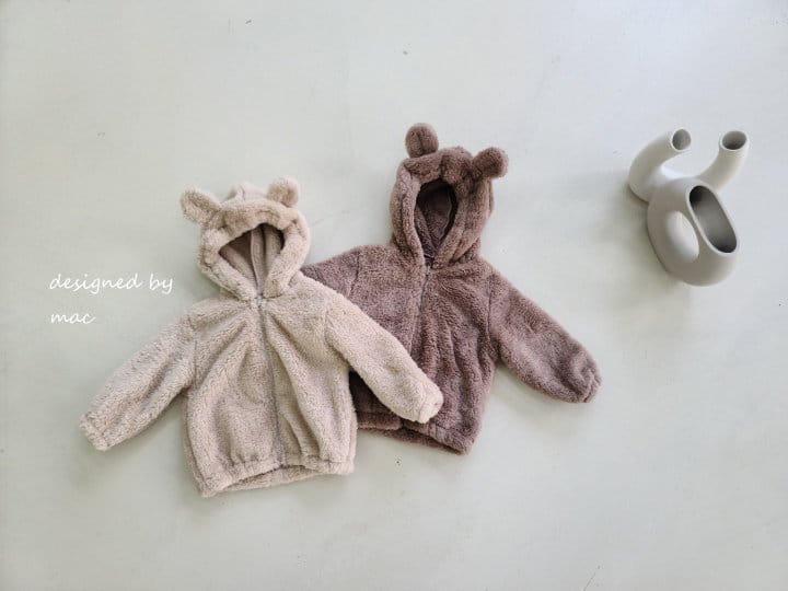 MAC - Korean Children Fashion - #Kfashion4kids - Bear Hoody Zip-up - 5