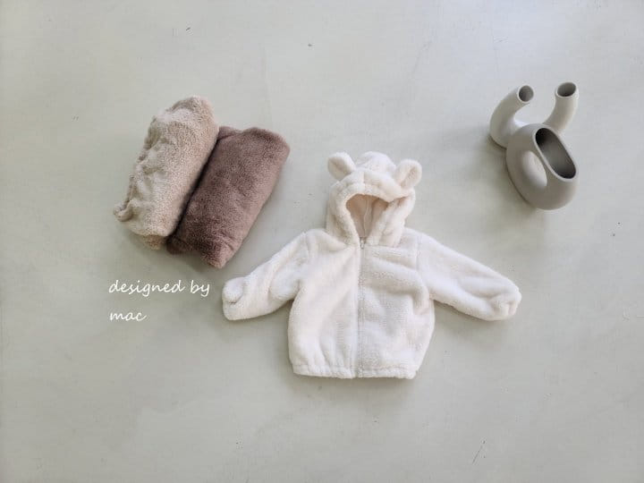 MAC - Korean Children Fashion - #Kfashion4kids - Bear Hoody Zip-up - 6