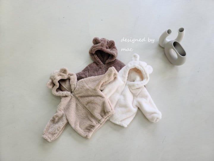 MAC - Korean Children Fashion - #Kfashion4kids - Bear Hoody Zip-up - 7