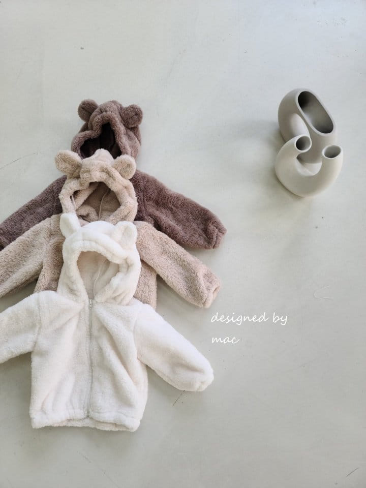 MAC - Korean Children Fashion - #Kfashion4kids - Bear Hoody Zip-up - 9