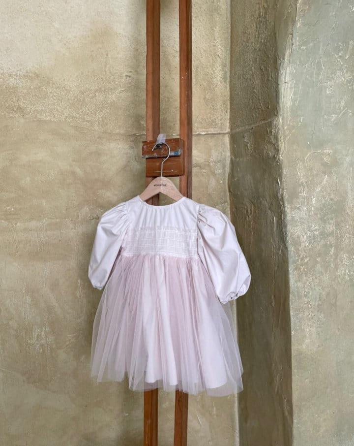 MONBEBE - Korean Children Fashion - #Kfashion4kids - Katy One-piece - 6