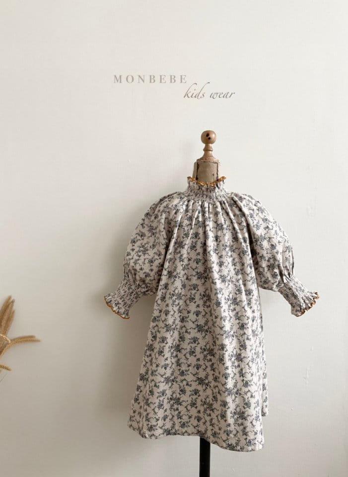 MONBEBE - Korean Children Fashion - #Kfashion4kids - Smocked One-piece