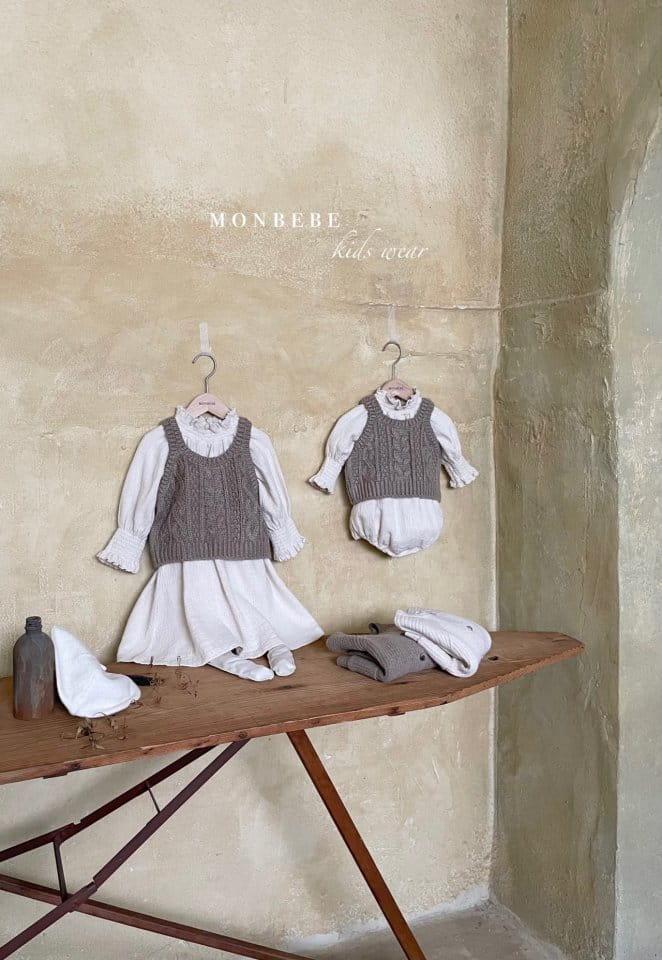MONBEBE - Korean Children Fashion - #Kfashion4kids - Smocked One-piece - 11