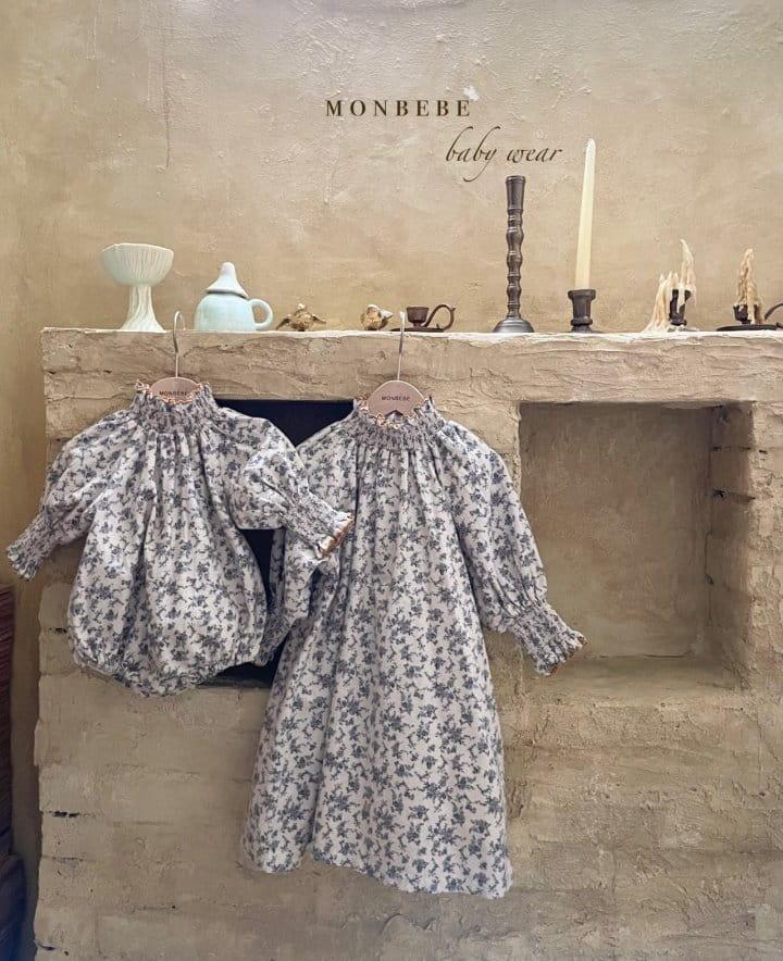 MONBEBE - Korean Children Fashion - #Kfashion4kids - Smocked One-piece - 9