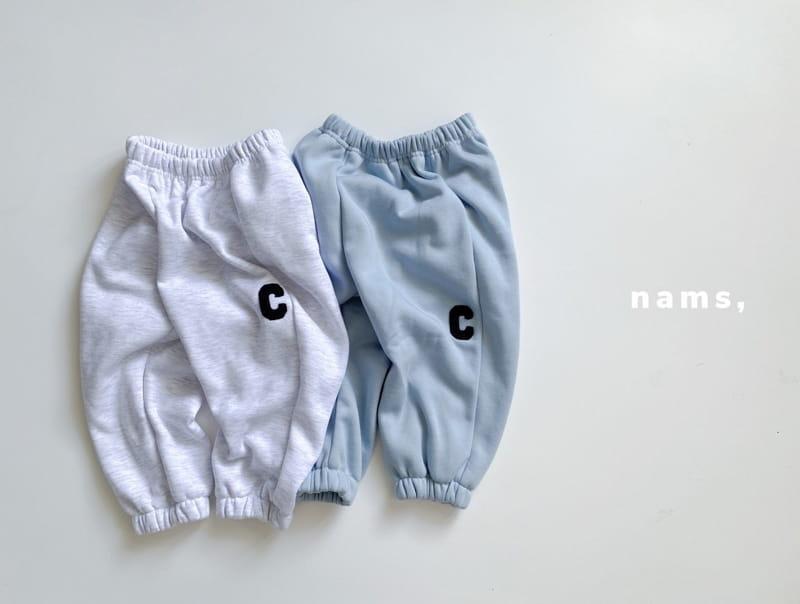 NAMS - Korean Children Fashion - #Kfashion4kids - C Embroidery Top Bottom Set - 10