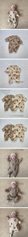 WOODIE - Korean Children Fashion - #Kfashion4kids - Cookie Bodysuit